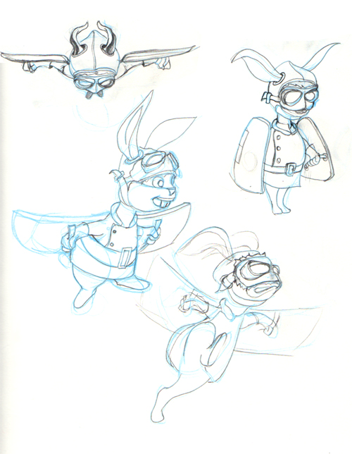 RFC Flying Toki Sketches